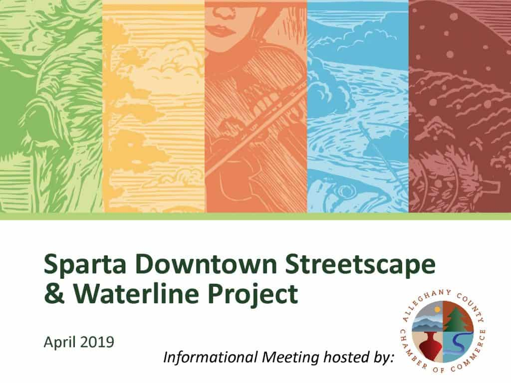 Sparta Downtown Streetscape & Waterline Project