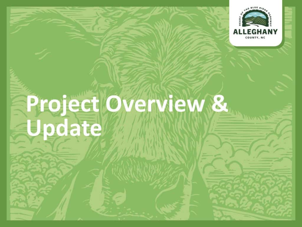 Project Overview & Update