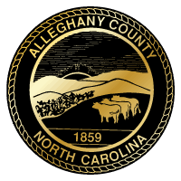 Alleghany County North Carolina Logo